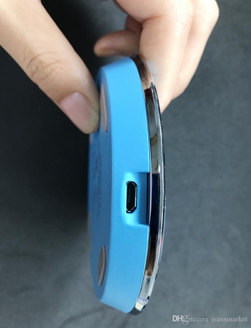 QI Güneş Çiçek Kablosuz Şarj Pad Kablosuz Şarj Pad Evrensel Apple iPhone Samsung Galaxy Not 5 Iletim Şarj S6 S7 S8 Yeni
