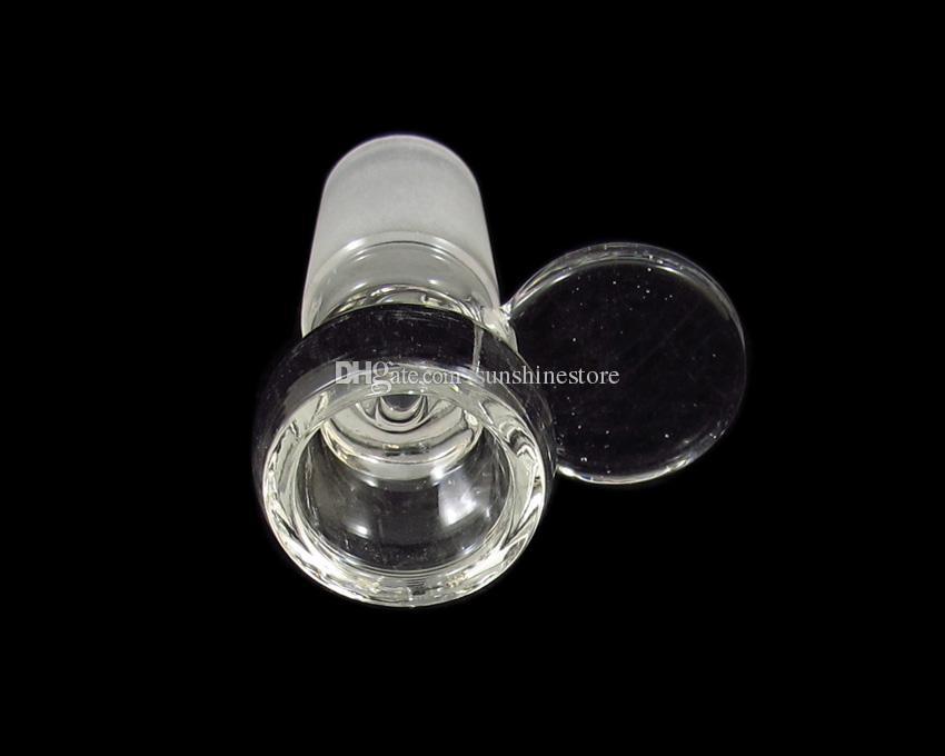 Bacia de fumo nova do tabaco de vidro da chegada com punho 14.5mm 18.8mm para a opção