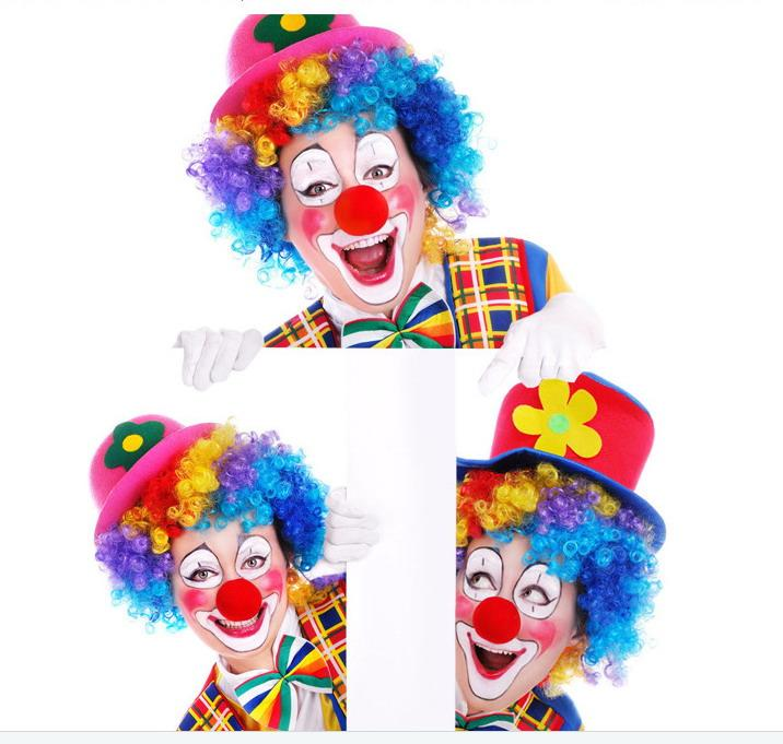 DHL Red Foam Circus Clown Nose Party Sponge Ball Red Clown Magic Nose for Halloween Masquerade Ball Sponge Comic Party