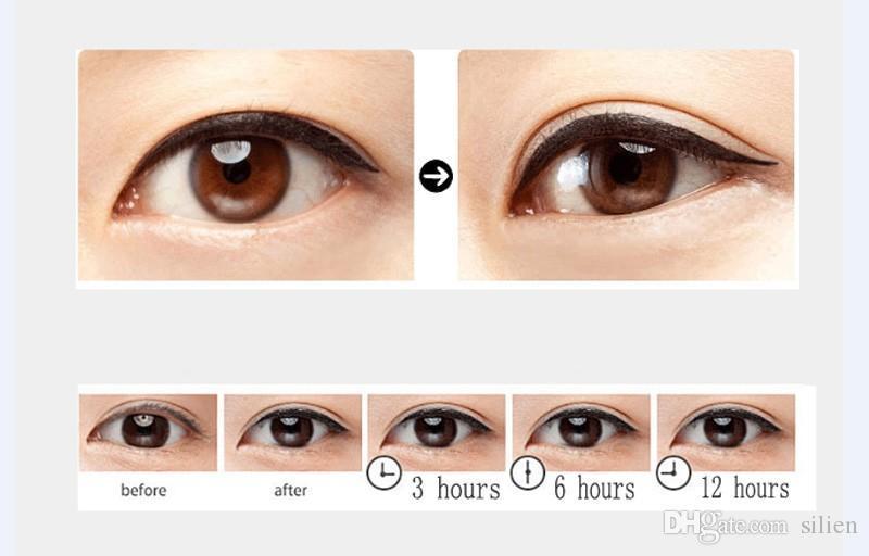 Wholesale- Cosmetic Women Beauty Makeup Black Eyeliner Waterproof Long -lasting Liquid Eye Liner Pencil Pen Make Up Tools
