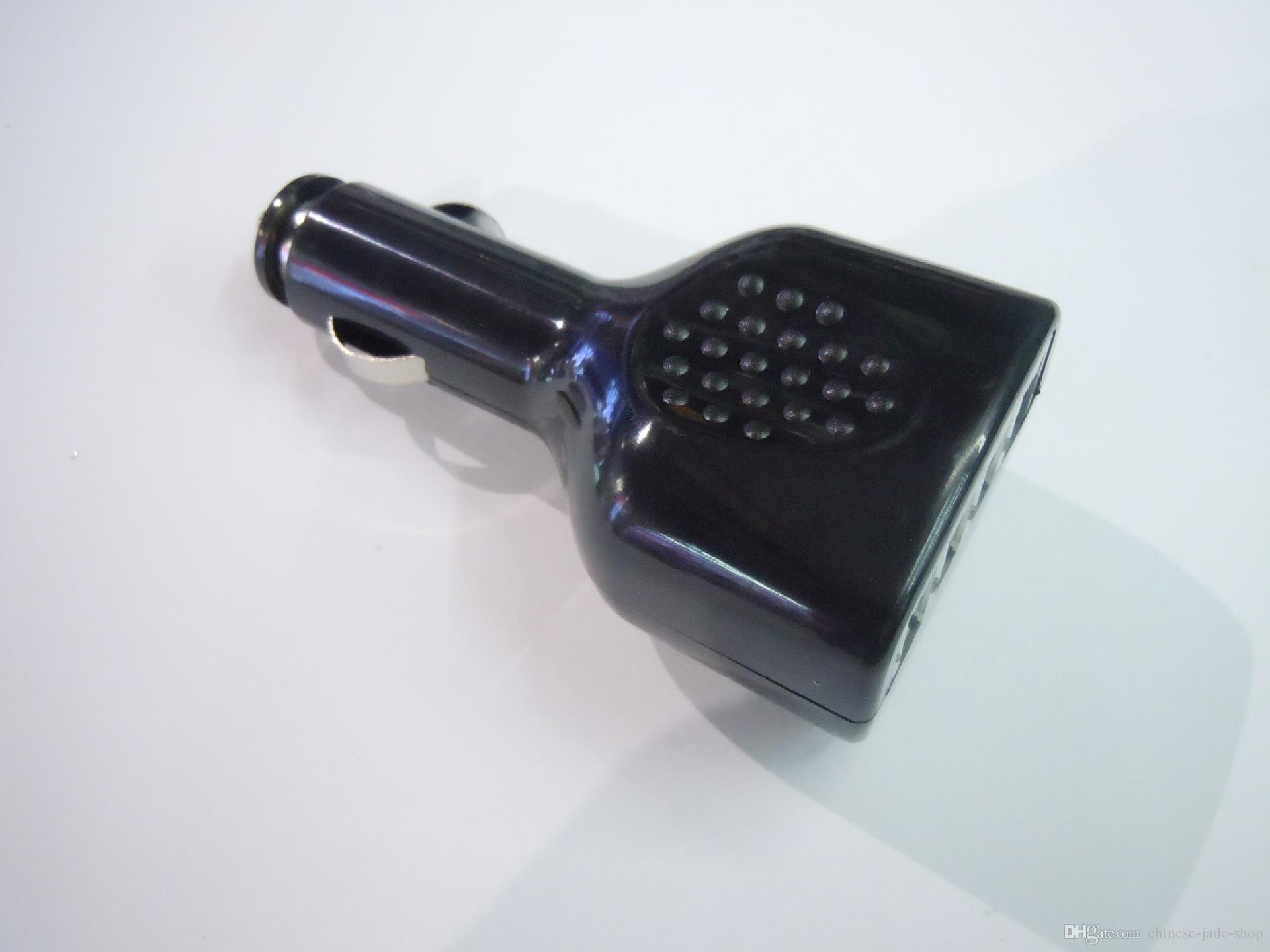 2.1A Multi-fonction 4 USB Ports Auto Ladegerät für ipad Tablet Handy schwarz weiß kein Einzelhandel Paket 50 teile / los