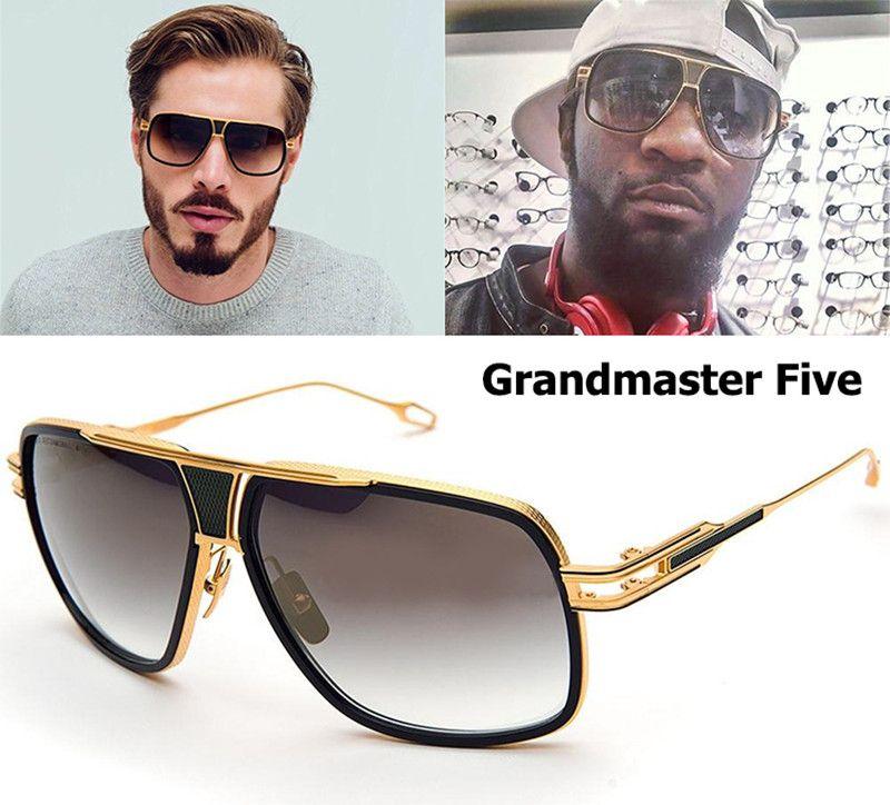 cadcf8fdc3b3 2016 Fashion Dita Grandmaster Five Style Sunglasses Men Women Brand  Designer Vintage Retro Sunglasses Gafas Oculos De Sol Canada 2019 From  Topbear, ...