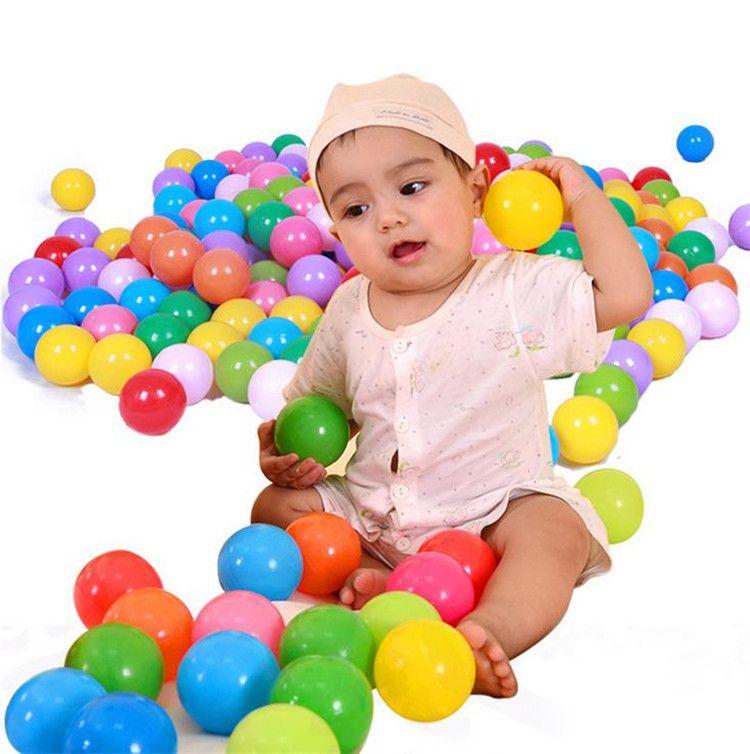 5.5CM Balloon Baby Children Growing Ocean Ball Toys Water Fun Sand Play Ball Beads Gel Jelly Multi Color Christmas festival balloon IB237