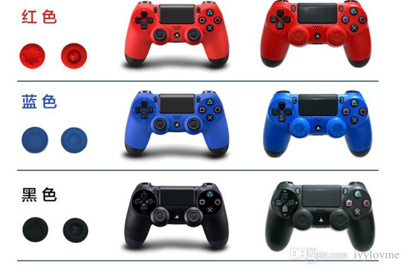1000 шт. / Лот Мягкие скользящие силиконовые пальцы Caps Cap Cap Cap Cap Caps Caps Joystick Caper Caper Cover Cover для PS3 / PS4 / Xbox One / Xbox 360 контроллеров