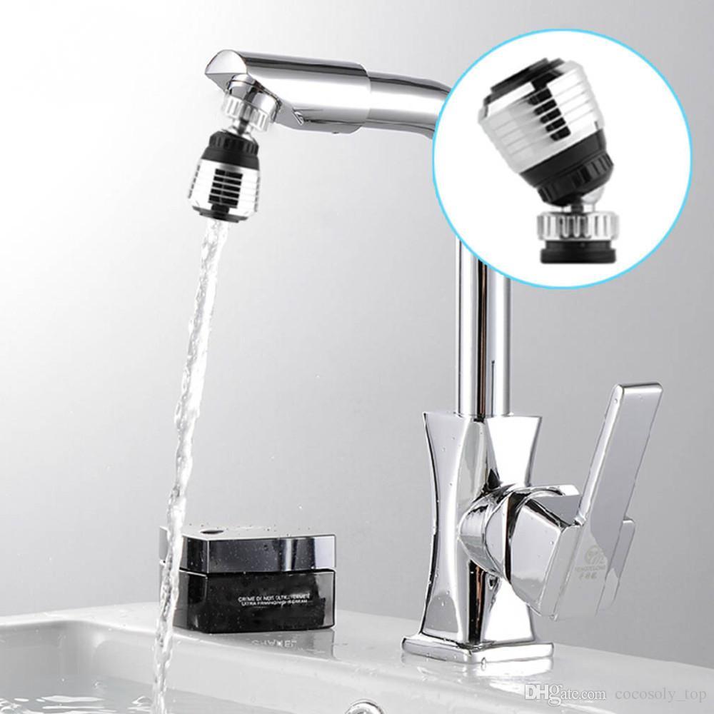 360 Rotate Swivel Torneira Bico Adaptador de Filtro De Poupança De Água Torneira Arejador Difusor Do Banheiro Acessórios de Cozinha
