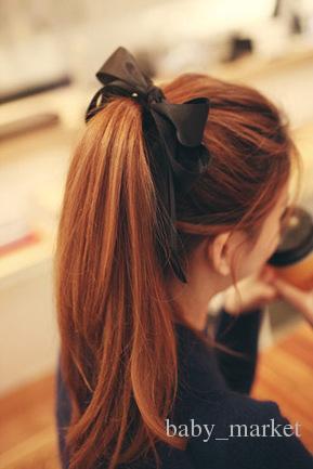 15% Rabatt! Neue Ankunft Frauen Mode Satin Band Bogen Haarband Seil Stirnband Pferdeschwanzhalter Elastisches Gummiband Mädchen Haarschmuck /