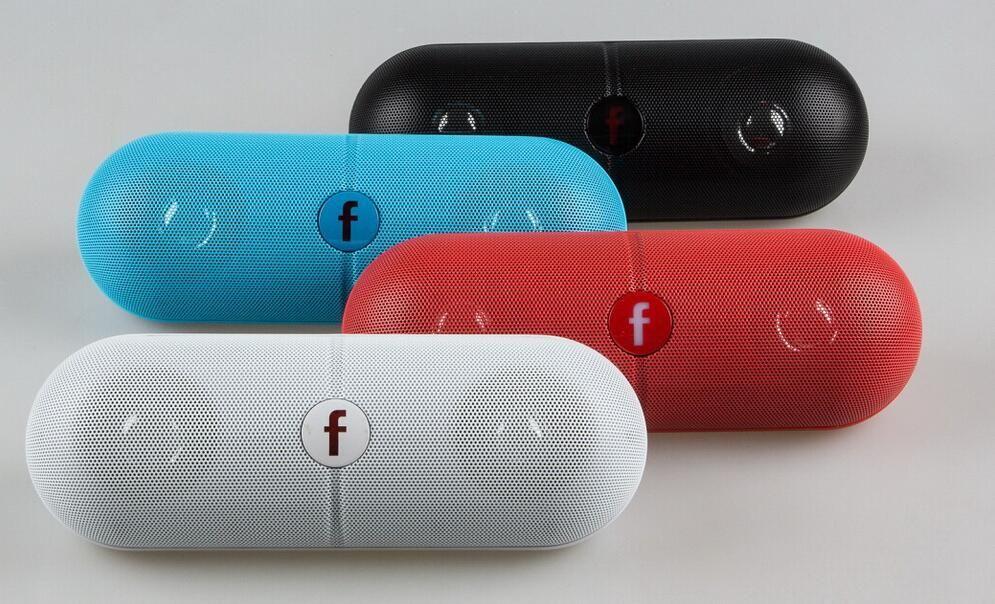 Pille XL Bluetooth Mini Lautsprecher Protable Wireless Stereo Musik Sound Box Audio Super Bass TF Slot Freisprecheinrichtung MP3 Player Mit b f LOGO E-YX