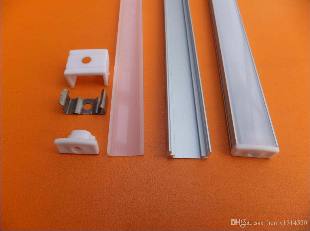 Factory Pricewholesale price 2m/pcs 80inch anodized aluminium led strip profile,11mm pcb LED bar light ,led channel