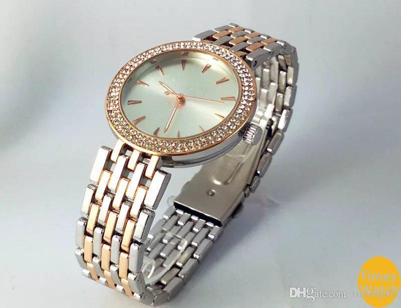 2019 حار الأعلى بيع النساء الرجال الذهب الماس المعصم relojes المقاوم للصدأ rolse الذهب الأزياء ووتش شحن مجاني