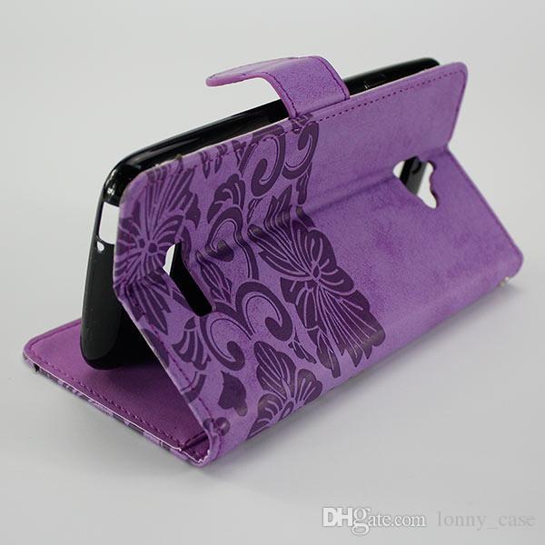 Wallet Case Für ZTE Tempo X N9137 Für ZTE Blade Force N9517 Für Coolpad trotzig 3632 Flip PU Ledertasche Kartensteckplatz