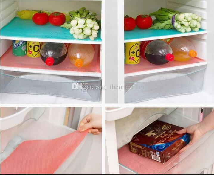DHL Kühlschrank Gefrierschrank Matte Kühlschrank Bin Antifouling Anti Frost Wasserdichte Pad