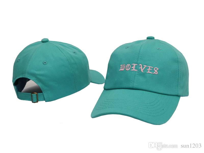 92e4a60e Yeezus 6 Panel God Hats Kermit I Feel Like Pablo Kanye West Bear Dad Hat  Wolves Cap Casquette POLOs Baseball Cap Drop Shipping Cap Store Custom  Fitted Hats ...