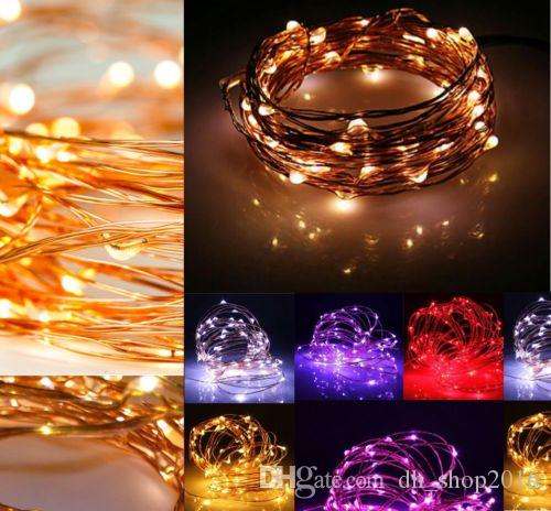 20 led battery operated micro clear wire string fairy party xmas wedding lights christmas ball ornament christmas ball ornaments from dh_shop2016