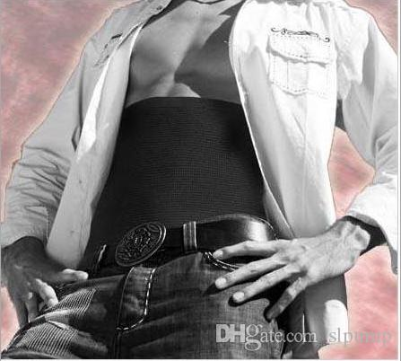 바디 셰이퍼 남자 슬리밍 허리 트리머 벨트 코르셋 맥주 밸리 랩 지방 셀룰 라이트 버너 배 컨트롤 위 벨트