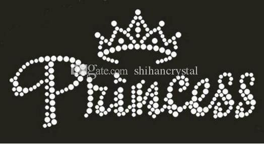 2019 Princess Crown Design Hot Fix Rhinestone Heat Transfer Iron On  Rhinestone Transfer Designs DIY Clothing From Shihancrystal a8920e56ead6