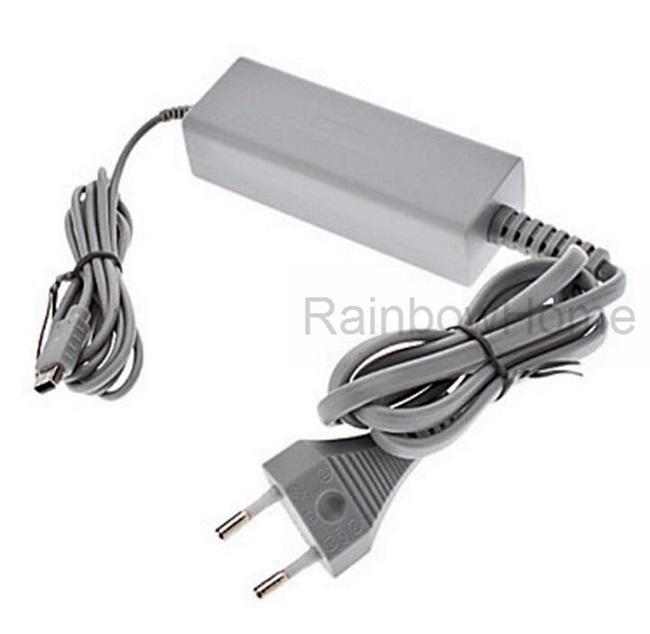 Wii Uコントローラのための代替AC電源アダプタの供給壁の充電器ゲームパッドアダプタUS EUプラグ小売箱
