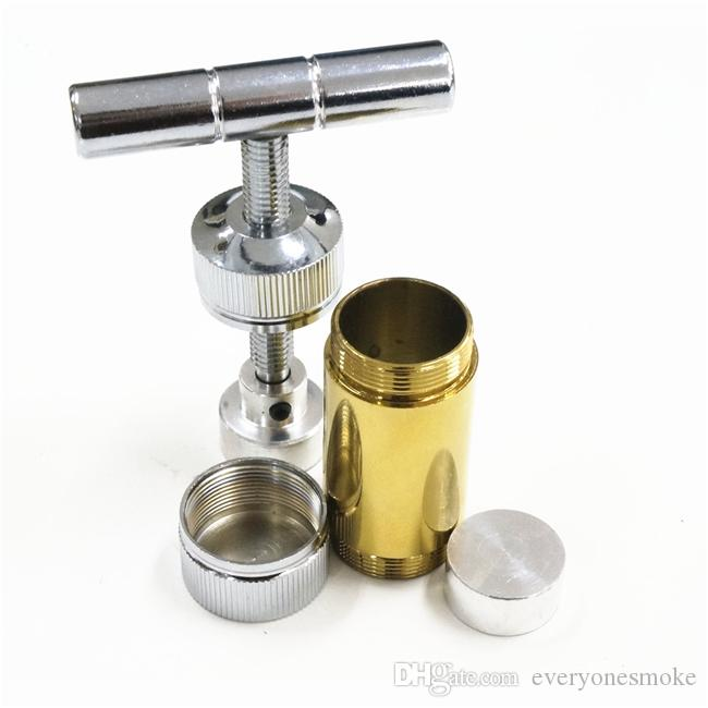 T-STYLE Polen Baskı, Altın Gövde, Alüminyum Sigara Borular, çap: 25mm, H: 90mm, Sigara Aksesuarları, Ücretsiz Kargo