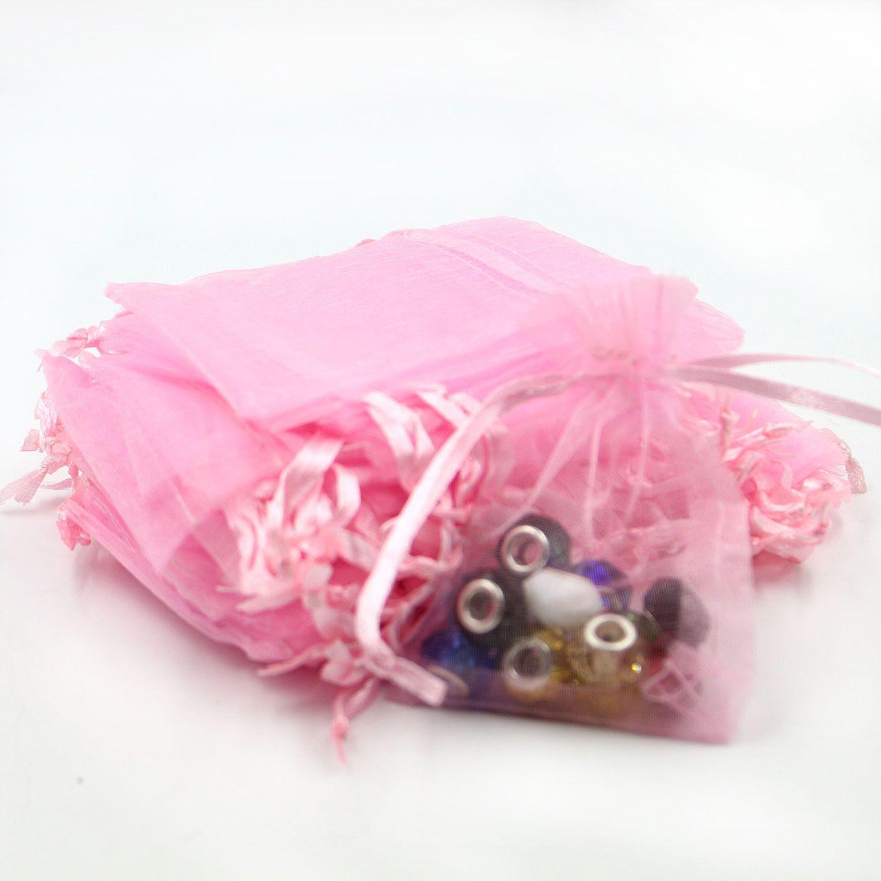 Оптовая Ювелирные Сумки СМЕШАННЫЕ Органзы Ювелирные Изделия Свадьба Xmas Подарочные Пакеты Фиолетовый Синий Розовый Желтый Черный С Шнурок 7 * 9 см