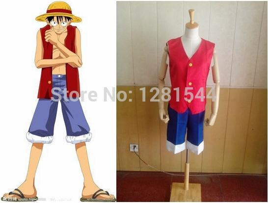 Cosplay Costume Luffy Of Luffy Cos Clothes Cosplay Clothes Customize