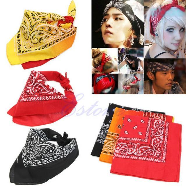 New Men S Women S HipHop Headband Variety Bandana Cotton Bandana  Handkerchief Ameba Headwrap Bikers Scarf Headband Hairband Neckerchife Mask  UK 2019 From ... c2c4035eefe