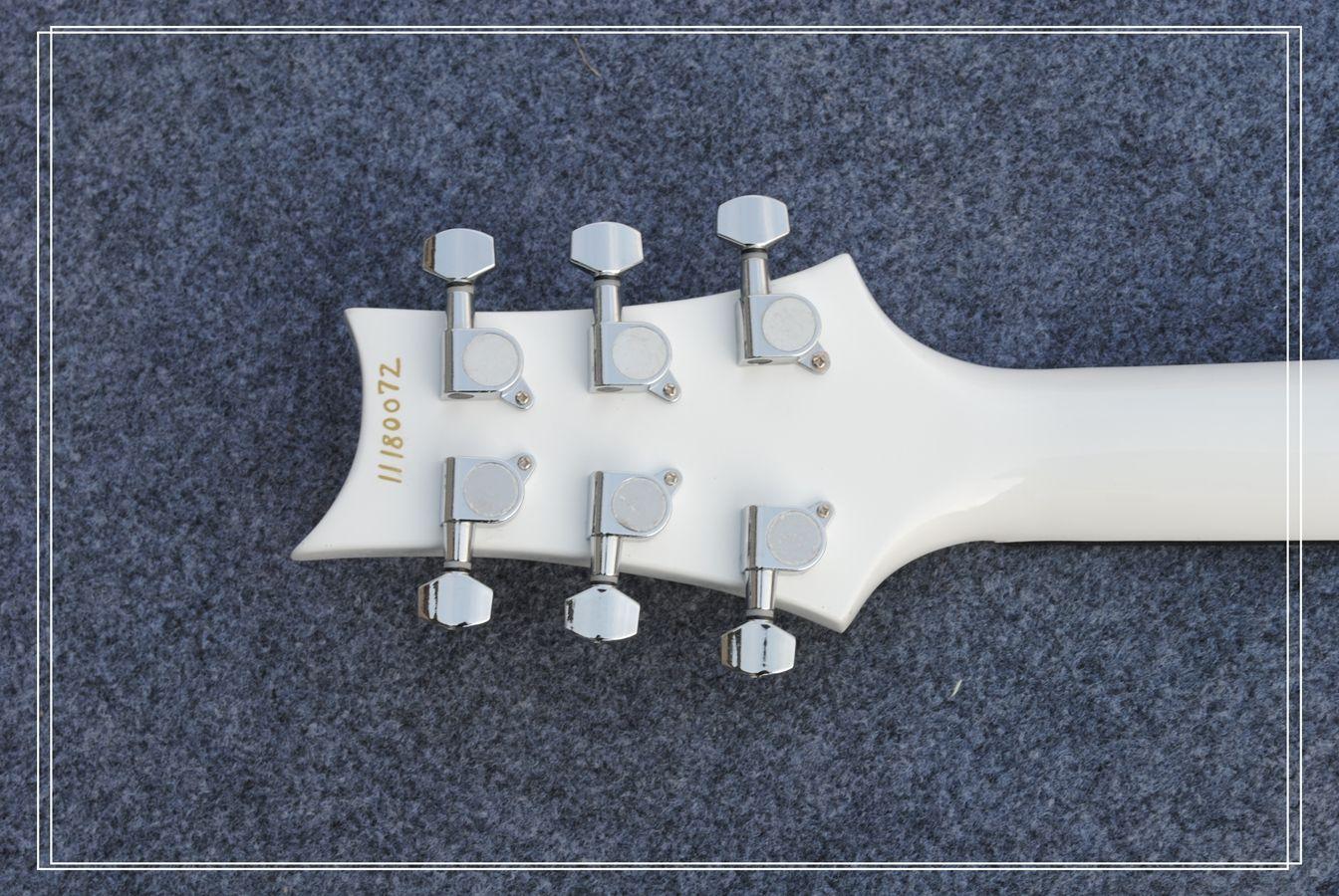 Custom Left Hand Electric Guitar IN White Best Selling OEM Guitar