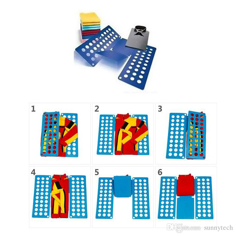 Clothes Folding Board Magic Fast Speed Folder Multi Functional Shirts Folding Board for Kids Children Garment ZA1307