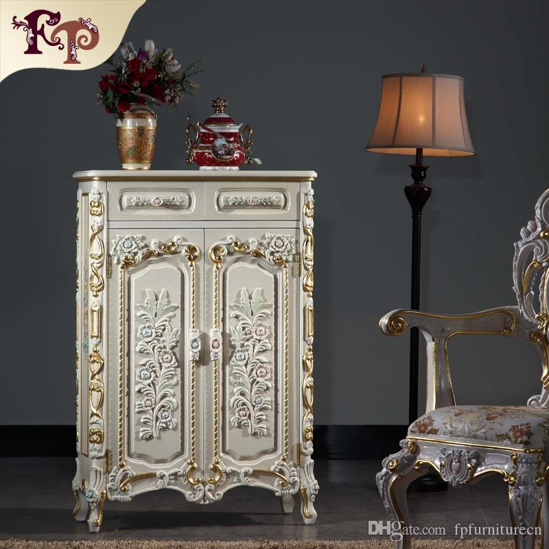 Captivating 2018 Italian French Antique Furniture Baroque Handcraft Cracking Paint Shoe  Cabinet From Fpfurniturecn, $1042.88 | Dhgate.Com