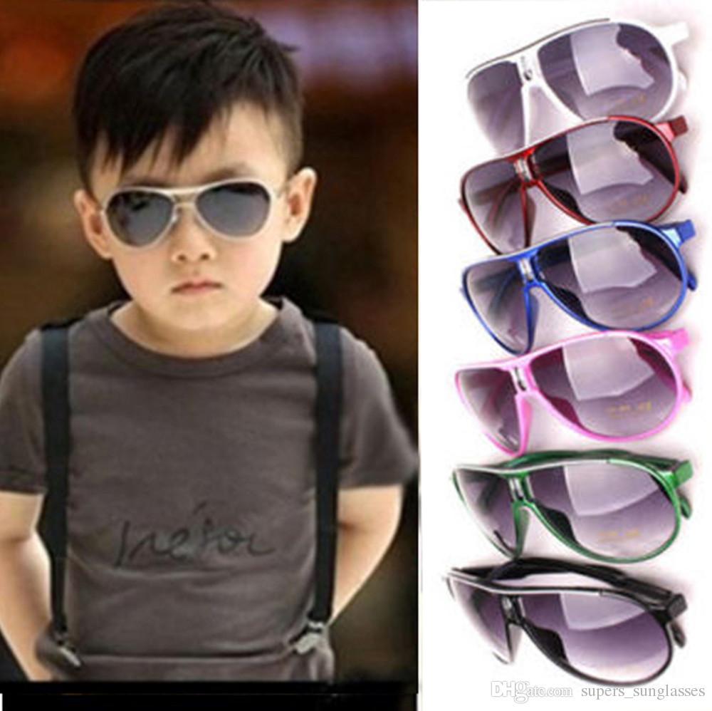 2806a4a988 Fashion Child Cool Sun Glasses Children Boys Kids Plastic Frame Style  Sunglasses Goggles Eyeglasses Fastrack Sunglasses Smith Sunglasses From ...