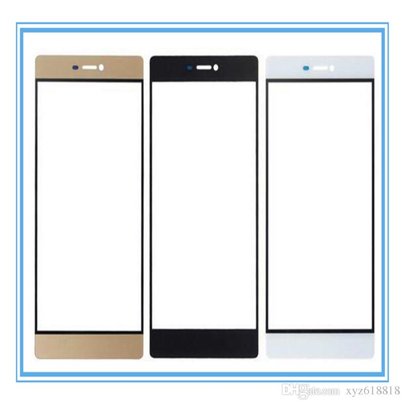 Black White Gold New Replacement Parts For Huawei Honor 6 Plus Front Glass Touch Screen Outer Panel Top Lens Cover Whole Sale