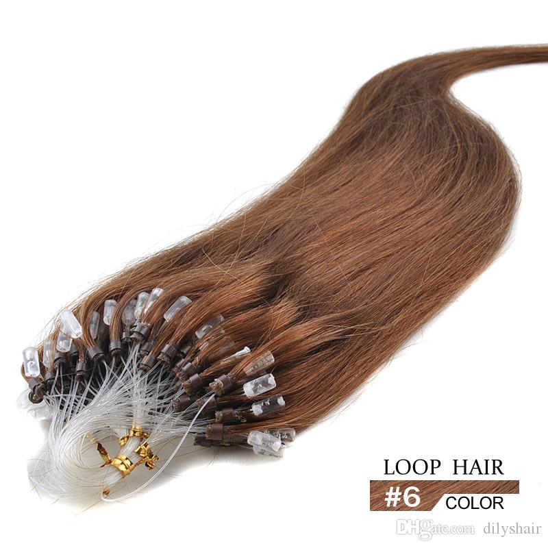 Hot Sale Micro Loop Ring Hair Extensions 6 Clearance Price 16 24