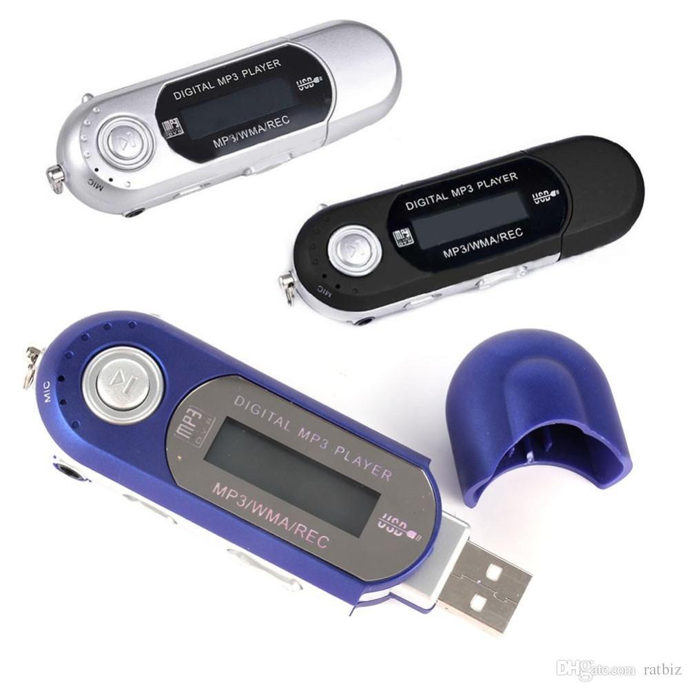 Big Zarva USB 2.0 MP3 Music Player with FM Radio support TF Card Max to 32GB USE Battery 8 kinds EQ USB Flash MP3 U Disk R-988