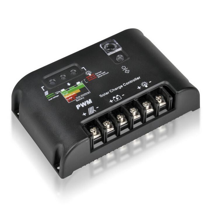 20A/10A Solar Charge Controller Battery Regulator 12V/24V Light&Timer Charger solar panel EC LED solar street lamp controler