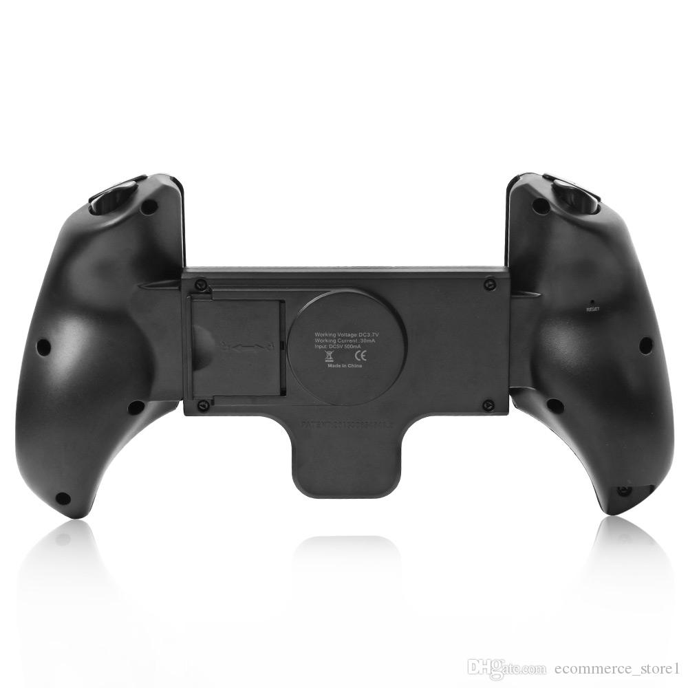 New ipega pg-9023 Telescopic Wireless Bluetooth Gamepad Gaming Controller Game Pad Joystick for Android Phones Windows PC Pad Black