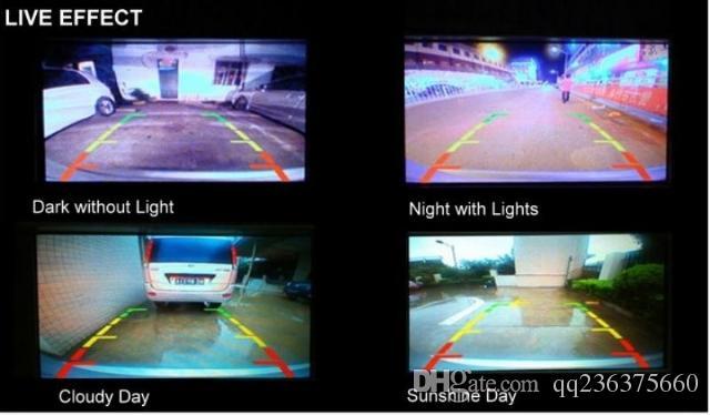 Mercedes Benz Classe S W204 W212 W221 Foro riservato Wireless Auto Auto Reverse Backup CCD HD Night Vision Telecamera posteriore