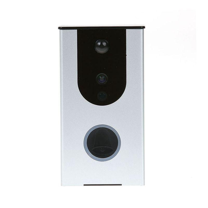 Videoportero inalámbrico Intercomunicador Teléfono 1.0MP HD 720P Wifi Timbre IR Visión nocturna Detección de movimiento Cámara de timbre de seguridad para el hogar