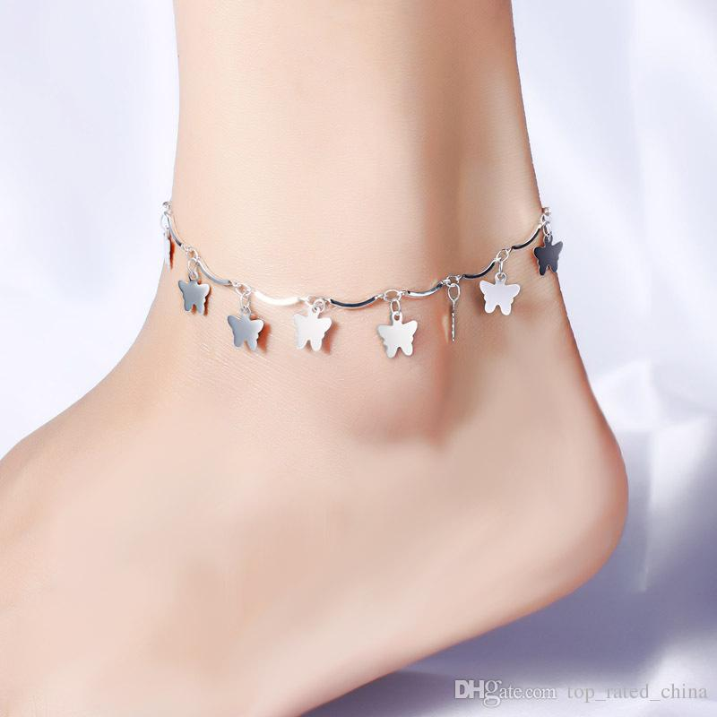 anklet il black womens for pearl anklets listing leather women
