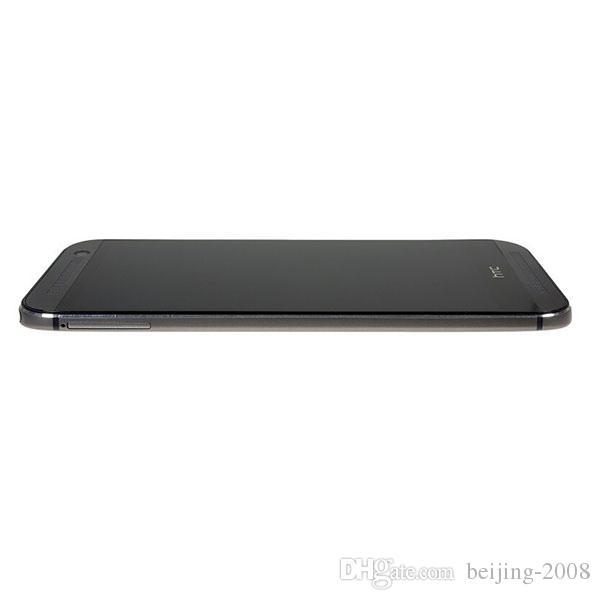 تم تجديده الأصلي HTC واحدة M8 رباعية النواة 5 '' مقفلة الهاتف مع الجيل الثالث 3G LTE 2GB رام 32GB ROM 1920X1080 الروبوت OS 4.4 الشحن السريع DHL
