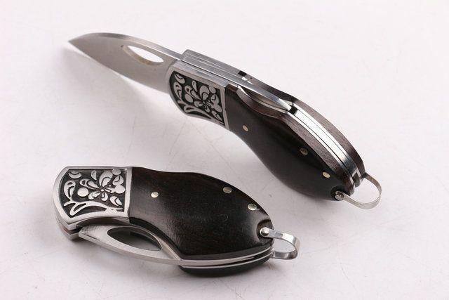 2016 nouveau couteau pouce couteau pliant cadeau couteau à fruits couteau de poche couteau mini couteau 440blade cadeau boîte emballage