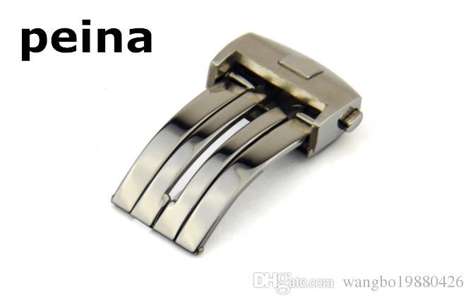 18mm 20mm YENİ Paslanmaz çelik Gümüş Siyah Altın İzle Band Toka Dağıtım toka TAG Heuer saat kayışı için