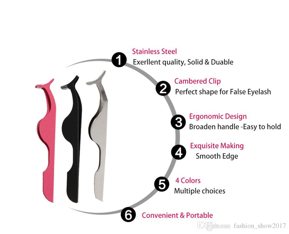 Venda quente Beleza Ferramentas Multifuncional Cílios Postiços Moda Cílios Curlers Mulheres Maravilhoso Cílios Postiços Cravando Clipe
