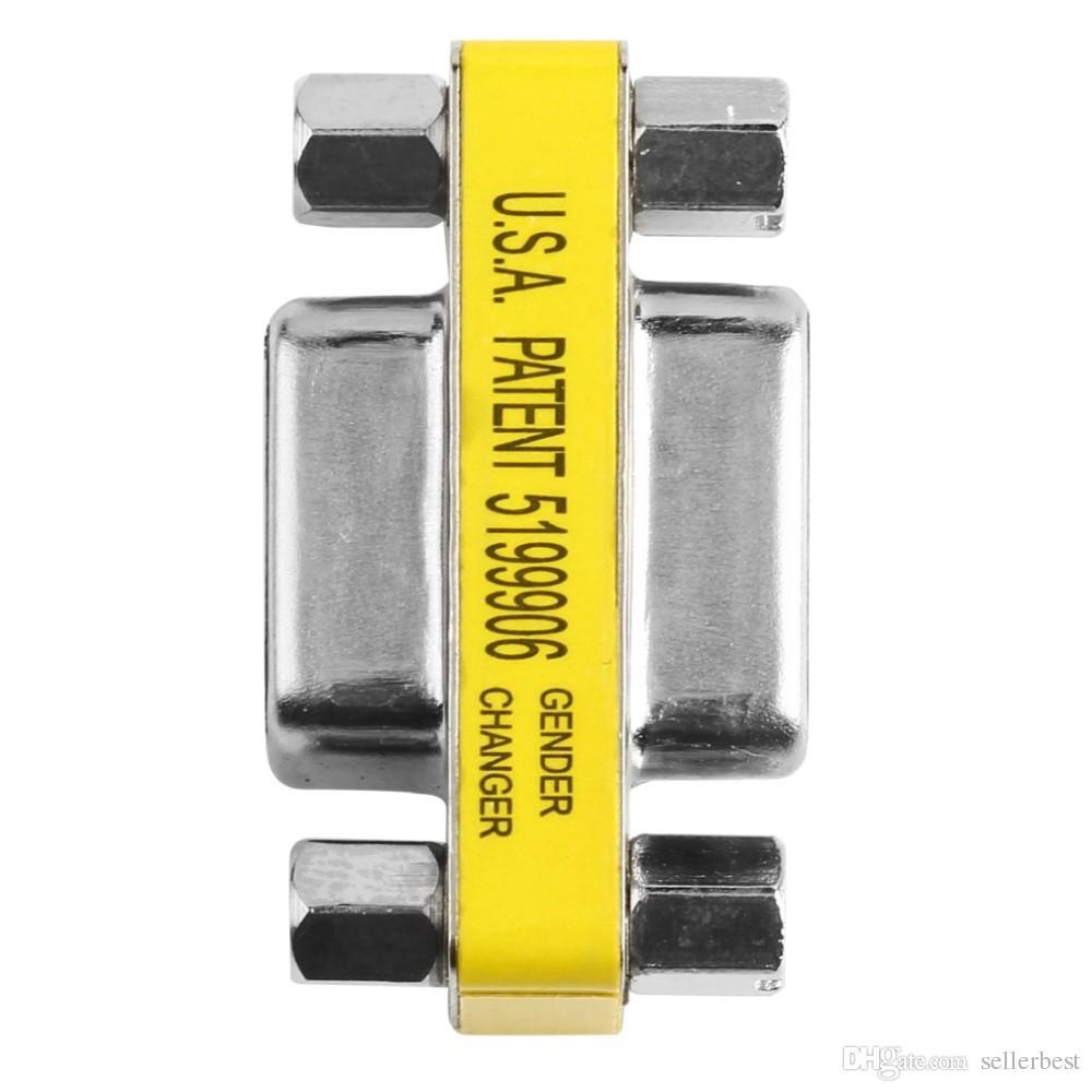 الولايات المتحدة الأمريكية براءة 5199906 VGA أنثى إلى أنثى 15PIN 15 PIN HD15 دبوس محول مبدل الجنس