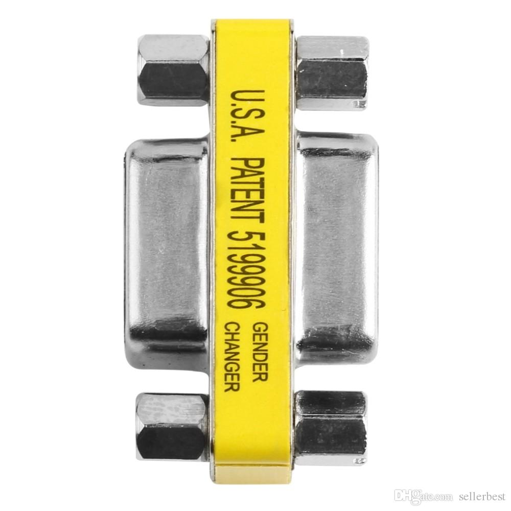 USA PATENT 5199906 VGA Female to VGA Female 15PIN 15 PIN HD15 Pin Gender Changer Convertor Adapter
