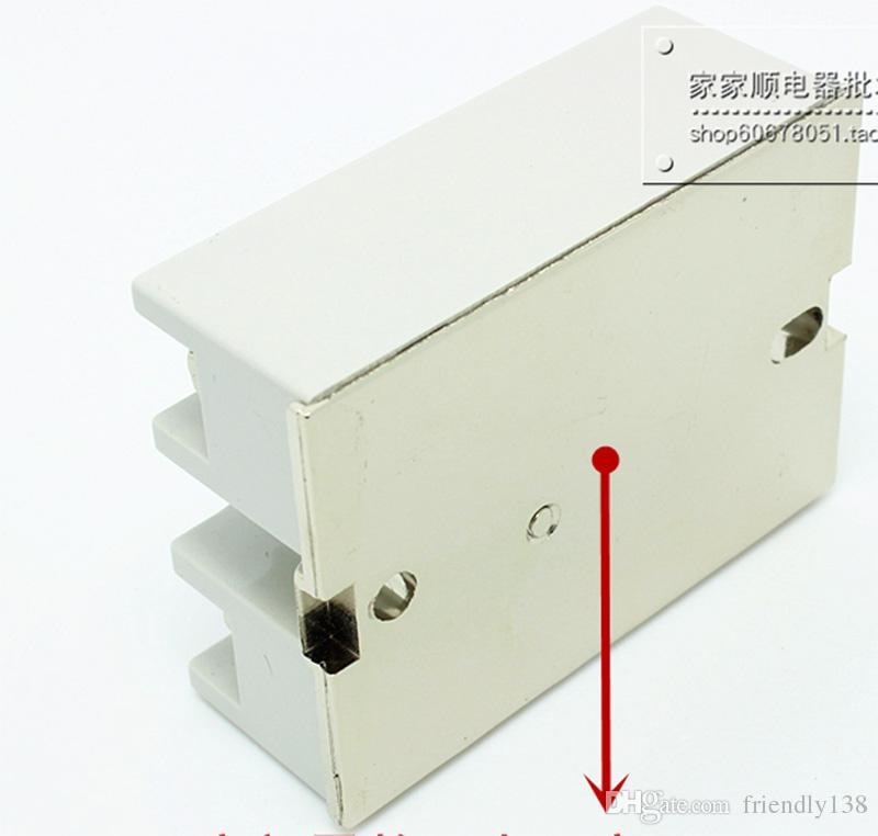 SSR-25DA fotek مرحلة واحدة تتابع الحالة الصلبة 25a 220 فولت 380 فولت dc تحكم ac SSR25DA الضمان لمدة سنة واحدة