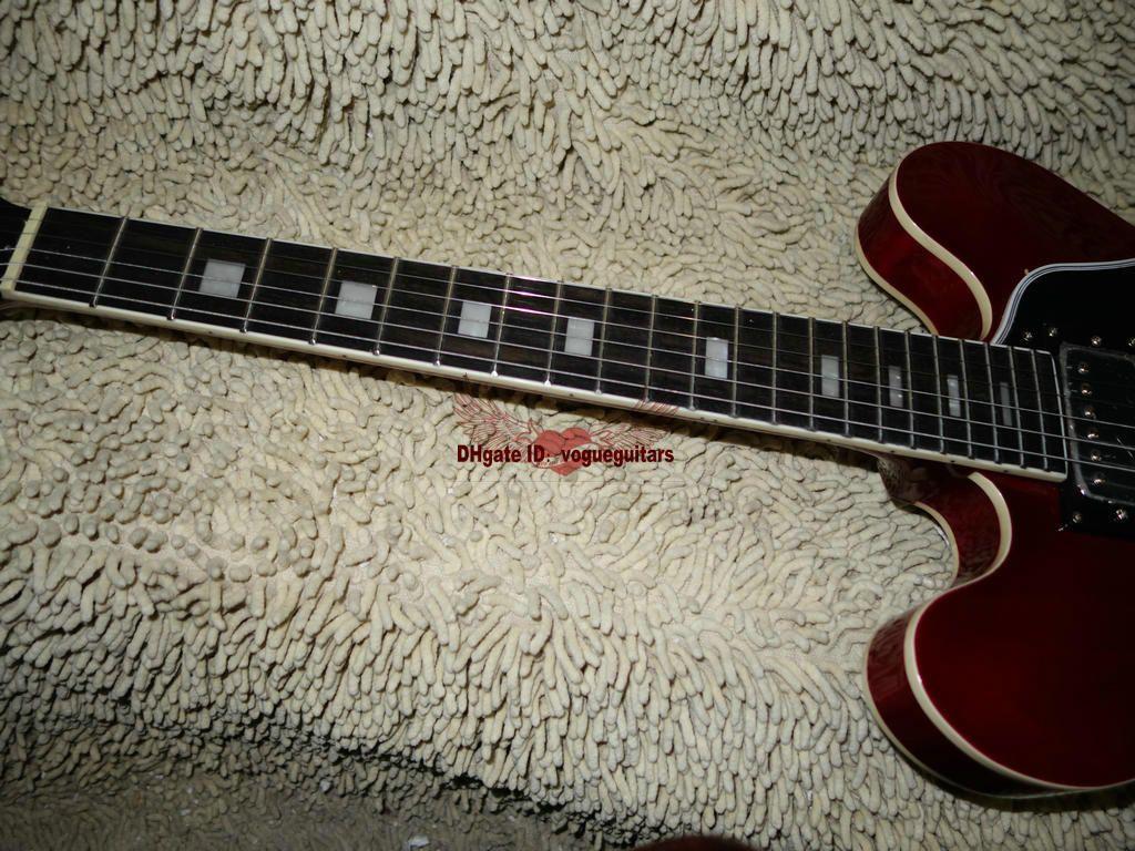 Custom 335 335 Jazz Guitar 335 Electric Guitar Chitarra nuovo arrivo di alta qualità