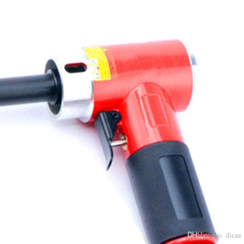 Livraison gratuite 1 pouce 90 degrés petite polisseuse pneumatique droite centricité rectifieuse air ponçage outil ponceuse à vent polisseur meuleuse