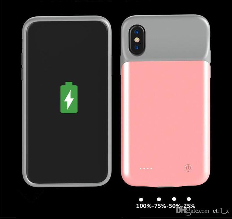 3600mAh External Battery Power Bank Charger Case For iPhone X Ultra Slim Portable Backup Phone Back Cover For iPhone 10