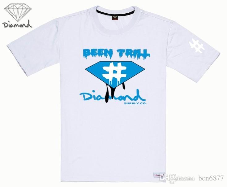 il trasporto libero s-5xl nuovi uomini maglietta manica corta diamante fornitura abbigliamento hip hop moda camicia casual