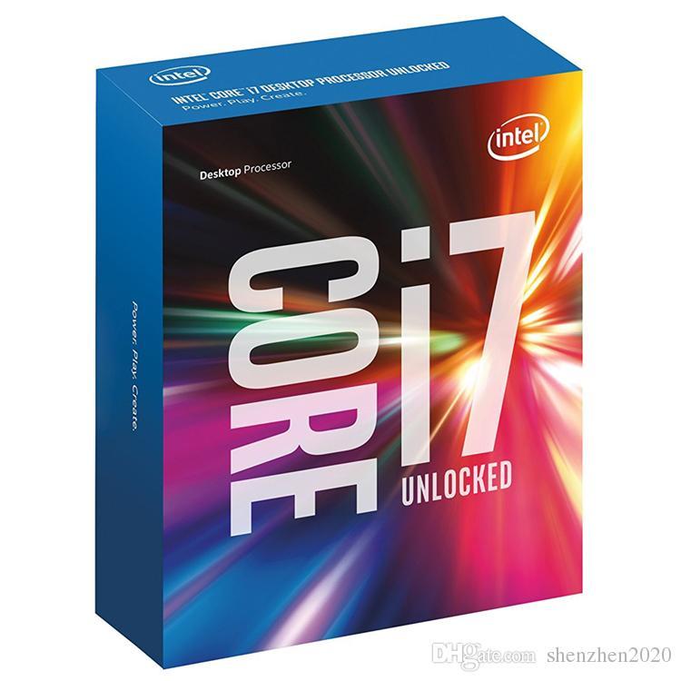 2017 Nuovo originale processore Intel Core i7 7700K CPU da 4.20 GHz / 8 MB / Quad Core / Socket CPU LGA 1151 / Quad Core / Desktop I7-7700K