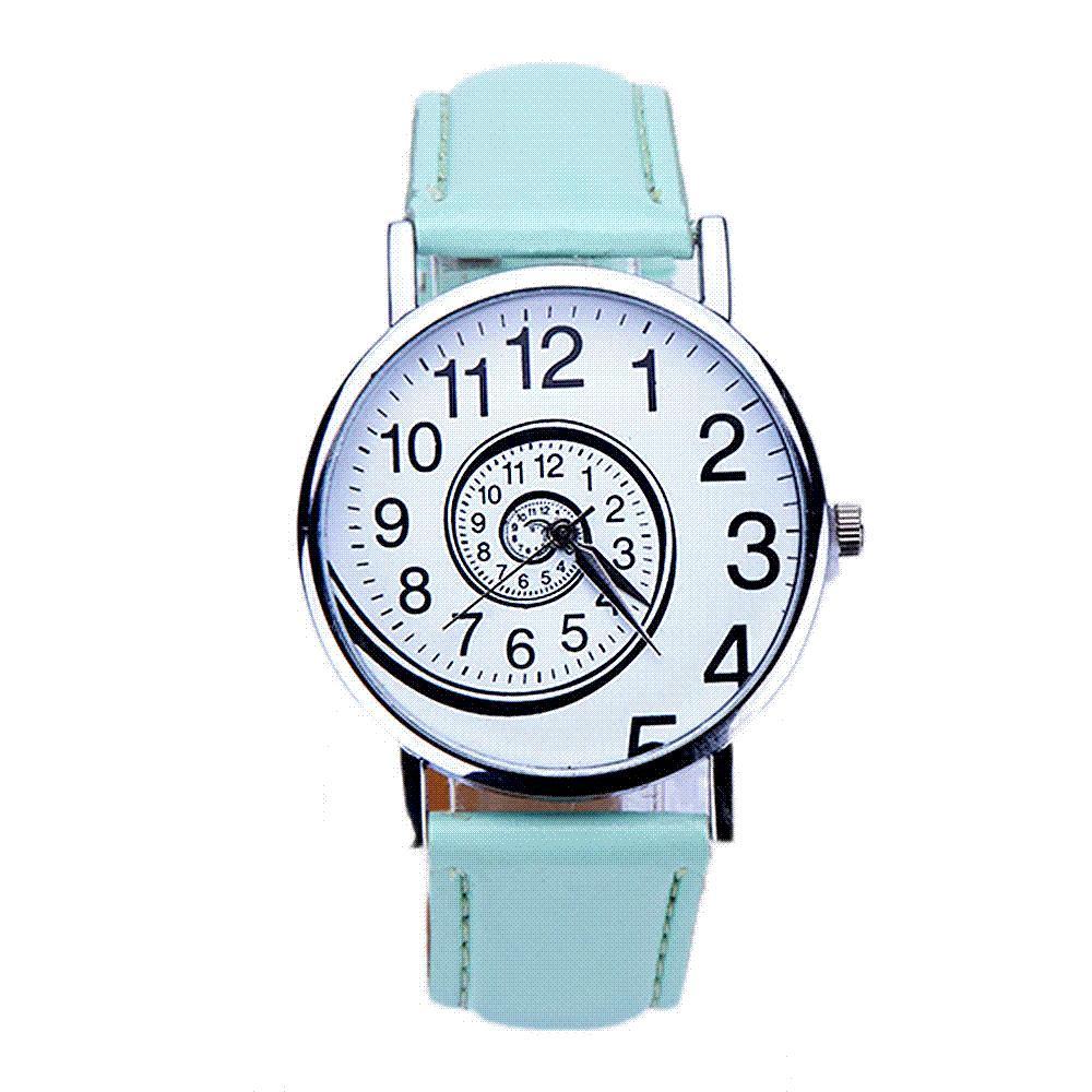 ce7e682cb Compre Moda Reloj Con Patrón De Remolino Reloj Deportivo Para Mujer Reloj  Analógico De Cuero Para Mujer Reloj De Cuarzo Relogio Feminino Reloj Al Por  Mayor ...