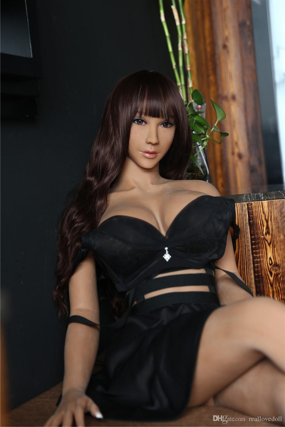 158cm Real Silicone Sex Doll For Men Asian Japanese Love doll Big Breast Big Ass Real Realistic Female Vagina TPE Sex Dolls